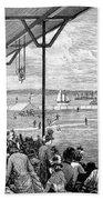New York: Baseball, 1886 Beach Towel