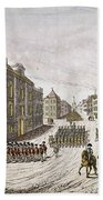 Occupied New York, 1776 Beach Towel