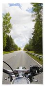 On The Road Beach Towel