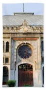 Orient Express Station In Istanbul Beach Towel