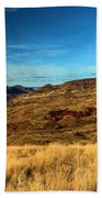 Painted Hills Landscape Beach Towel