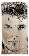 Patrick Swayze In 1989 Beach Towel