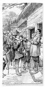 Pilgrims: Thanksgiving, 1621 Beach Towel