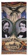 Presidential Campaign, 1856 Beach Towel