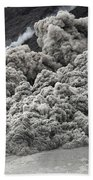 Pyroclastic Flow Descending The Flank Beach Towel