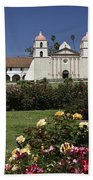 Queen Of The Spanish Missions Beach Towel
