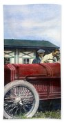 Race Car, 1914 Beach Towel