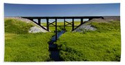Railroad Trestle Beach Towel