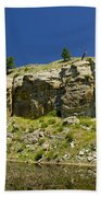 Reflecting Cliffs Beach Sheet