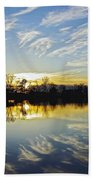 Reflections Beach Towel by Brian Wallace