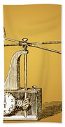 Robinsons Anemometer, 1846 Beach Towel