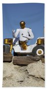 Robonaut 2 Poses Atop Its New Wheeled Beach Towel by Stocktrek Images