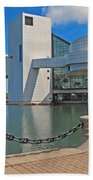 Rock And Roll Hall Of Fame Beach Towel