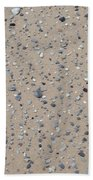 Rocks Sorted By The Wind Beach Towel