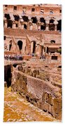 Roman Coliseum  Beach Towel