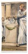 Roman Senate: Catiline Beach Towel