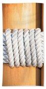 Rope Beach Towel by Tom Gowanlock