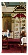Russian Orthodox Church Beach Towel