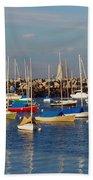 Sail Siesta Beach Towel by Joann Vitali