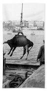 San Juan Harbor - Puerto Rico - C 1900 Beach Towel