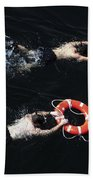 Search And Rescue Swimmers Beach Towel