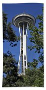 Seattle Space Needle Beach Towel