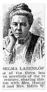 Selma Lagerlof (1858-1940) Beach Towel