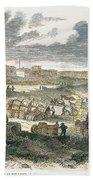Shreveport Levee, 1872 Beach Towel