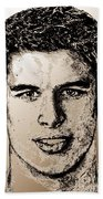 Sidney Crosby In 2007 Beach Towel