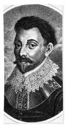 Sir Francis Drake, English Explorer Beach Towel