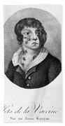 Smallpox Vaccination, 1807 Beach Towel