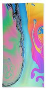 Soap Film Beach Towel