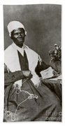 Sojourner Truth, African-american Beach Towel by Photo Researchers