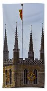 Southwark Cathedral London Beach Towel
