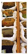 Spices On The Market Beach Towel by Elena Elisseeva