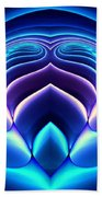Spiral-3 Beach Towel by Klara Acel