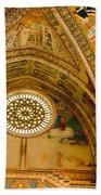 St Francis Basilica   Assisi Italy Beach Towel