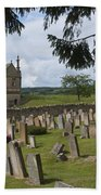 St James Church Graveyard Beach Towel