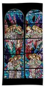 Stained Glass Pc 05 Beach Towel