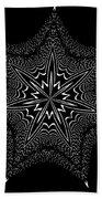 Star Fish Kaleidoscope Beach Towel