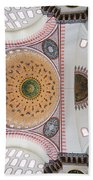 Suleymaniye Mosque Ceiling Beach Towel