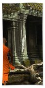 Ta Prohm Cambodia Beach Towel
