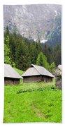 Tatra Mountains In Poland Beach Towel