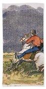 Texas Cowboys, C1850 Beach Towel