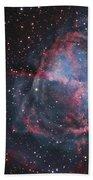 The Dumbbell Nebula Beach Towel