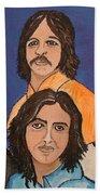 The Fab Four Beatles  Beach Towel
