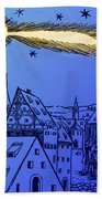 The Great Comet Of 1556 Beach Towel by Science Source