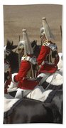 The Household Cavalry Performs Beach Towel