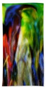 The Parrot Beach Towel
