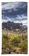 The Superstitions  Beach Towel